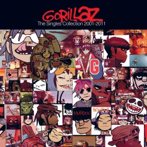 Gorillaz - The Singles Collection 2001-2011 - Cover