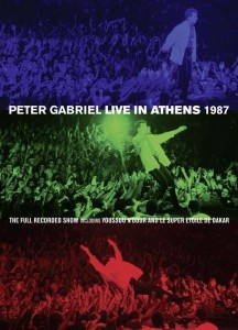 Peter Gabriel Live In Athens 1987 - Cover