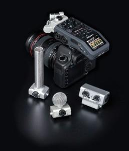 Zoom H6 mit DSLR und Capsules