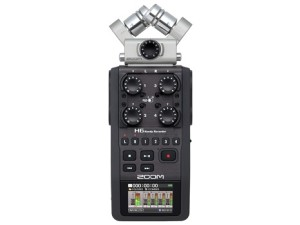 Zoom H6 topview